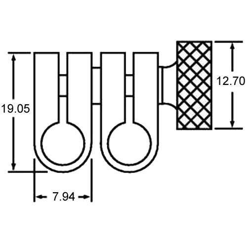 Diagram - Joints - Swivel - Miniature - Steel