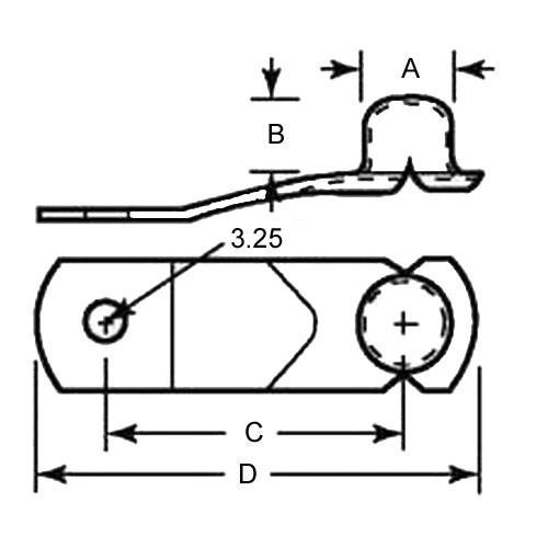 Diagram - Snap Buttons - Flat Type