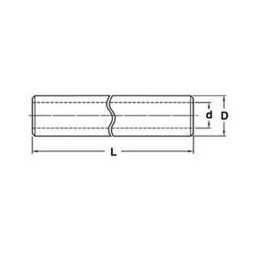 Diagram - Shafting - Pipe - Aluminium