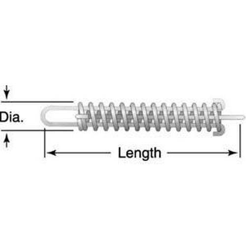 Diagram - Springs - Drawbar - Stainless Steel