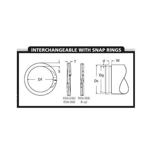 Diagram - Spiral Rings - External - Heavy Duty