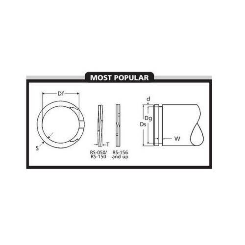 Diagram - Spiral Rings - External - Medium Duty