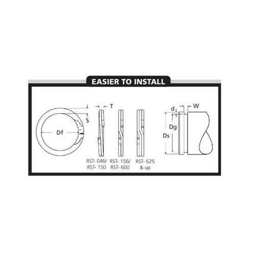 Diagram - Spiral Rings - External - Medium-Heavy Duty