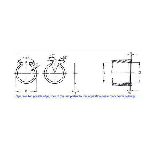 Diagram - Snap Rings - Internal - Basic