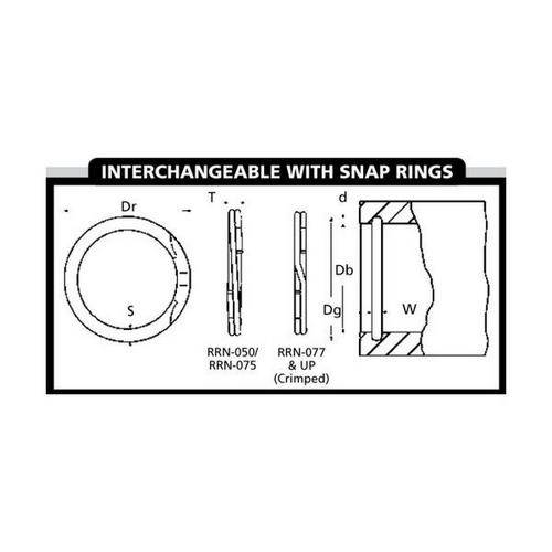 Diagram - Spiral Rings - Internal - Heavy Duty