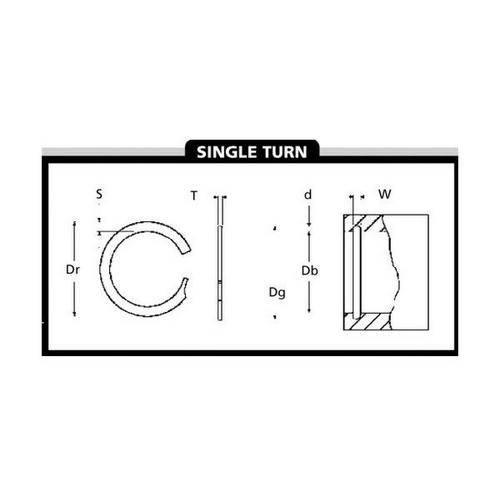 Diagram - Spiral Rings - Internal - Light Duty