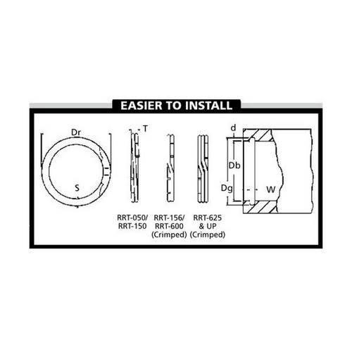 Diagram - Spiral Rings - Internal - Medium-Heavy Duty