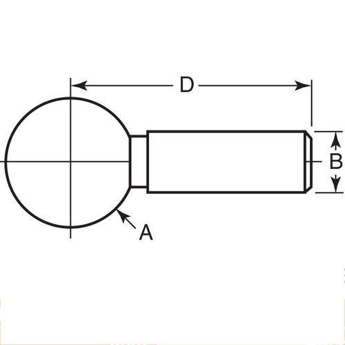 Diagram - Balls - Tooling - One Piece - Standard - Steel - Press Fit