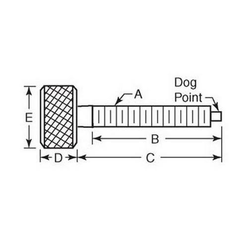Diagram - Screws - Thumb - Dog Point