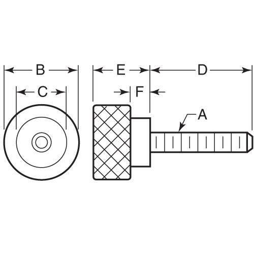 Diagram - Screws - Thumb - Shoulder