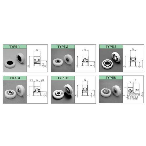 Diagram - Bearings - Acetal - Special Types