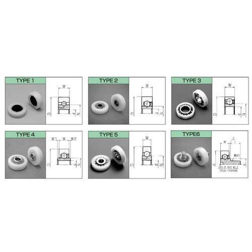 Diagram - Bearings - Acetal - Special Types
