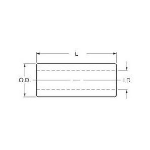 Diagram - Tube - Round - Bronze - LG2 Standard