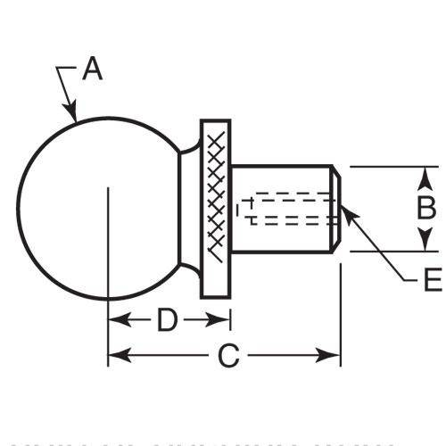 Diagram - Balls - Tooling - Two Piece - Construction - Steel
