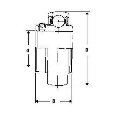 Diagram - Bearings - For Cast Iron Housings