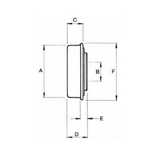 Diagram - Bearings - Unground