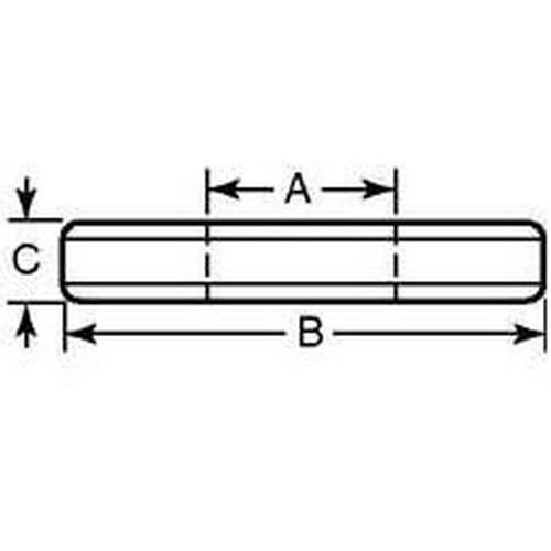 Diagram - Washers - Flat - Hardened Steel