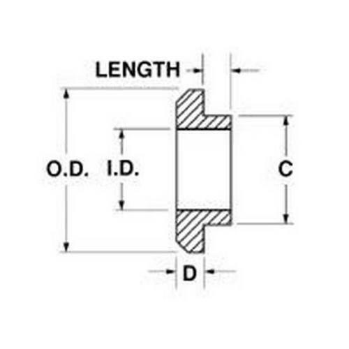 Diagram - Washers - Shoulder - Nylon