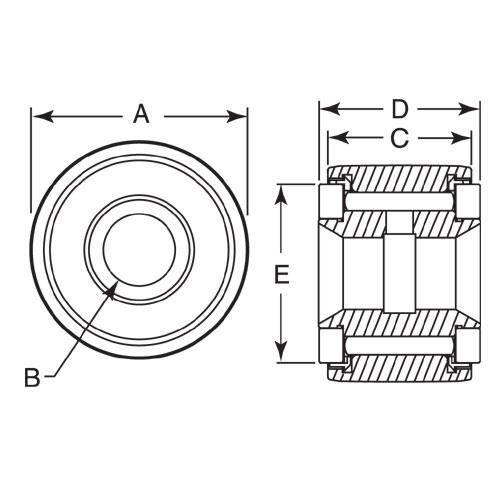Diagram - Rollers - Yoke - Crown