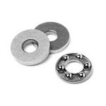 Bearings - Thrust - Ball - Flat - Chrome Steel