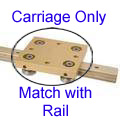 Linear Rail System - Speedi-Roll - Carriages