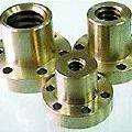 Leadscrew Nuts - Metric - Flanged - Bronze