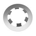 Push On Retaining Rings - Stainless Steel